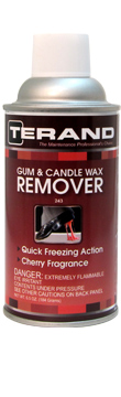 Gum & Candle Wax Remover