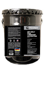 Dry Moly Film Lubricant and Coating - 5 gal