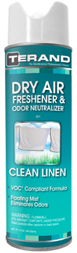 Dry Air Freshener & Odor Neutralizer Clean Linen