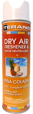 Dry Air Freshener & Odor Neutralizer - Pina Colada