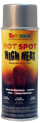 Heat Resistant High Temp Paint Hot Spot -Aluminum