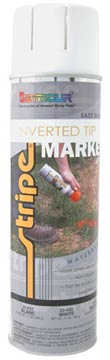 WATER-BASED INVERTED TIP MARKER PAINT - White